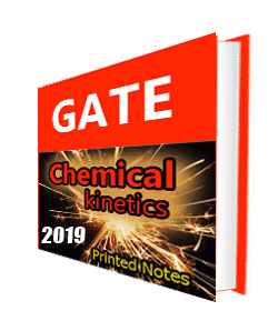 Printed notes of Chemical Kinetics For GATE Examination