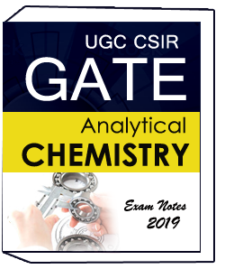 UGC CSIR GATE For Analytical Chemistry Exam Notes 2019