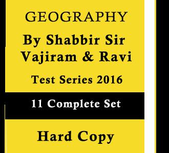 Geography Test Series -11 -Complete Set-2016 by Shabbir Sir -Vajiram & Ravi