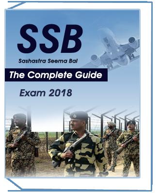 SSB – Sashastra Seema Bal Exam- 2018