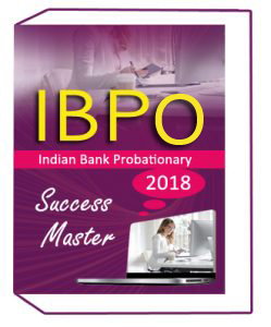 INDIAN BANK PO (Probationary Officer) 2018