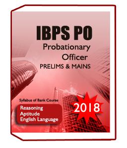 IBPS PO Probationary Officer Exam 2018