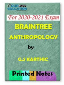 BRAINTREE ANTHROPOL Printed Notes