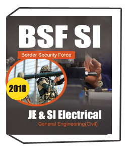 BSF Border Security Force SI Works / JE & SI Electrical Exam of General Engineering(Civil) Notes