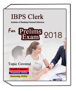 IBPS Clerk Institute of Banking Personal Selection -Prelims Exam -2018