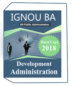 IGNOU- BA Public Administration Printed Notes (EPA03)
