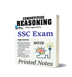Printed Notes of SSC Reasoning