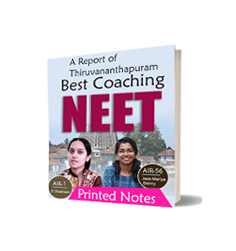 Printed notes of Best NEET coaching in Thiruvananthapuram Journal