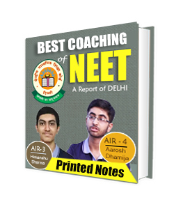Hard copy of NEET coaching In Delhi